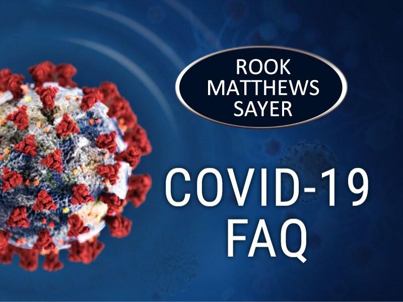 Covid-19 Pandemic FAQ's