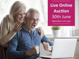 Our Live online auction is coming soon!