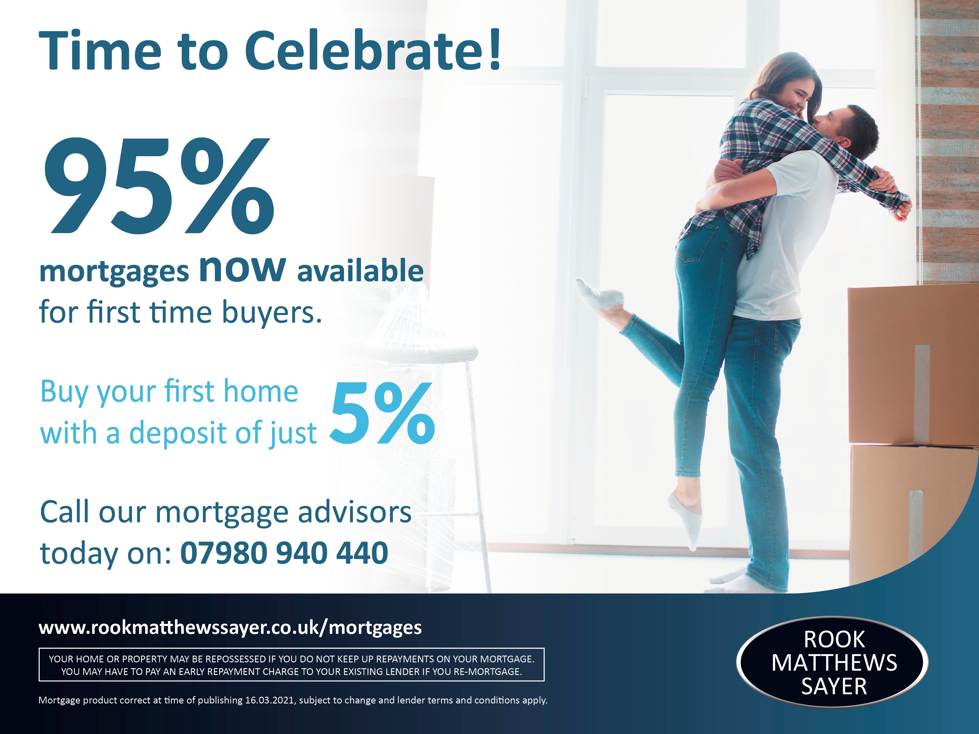 95% Mortgage product is NOW available!