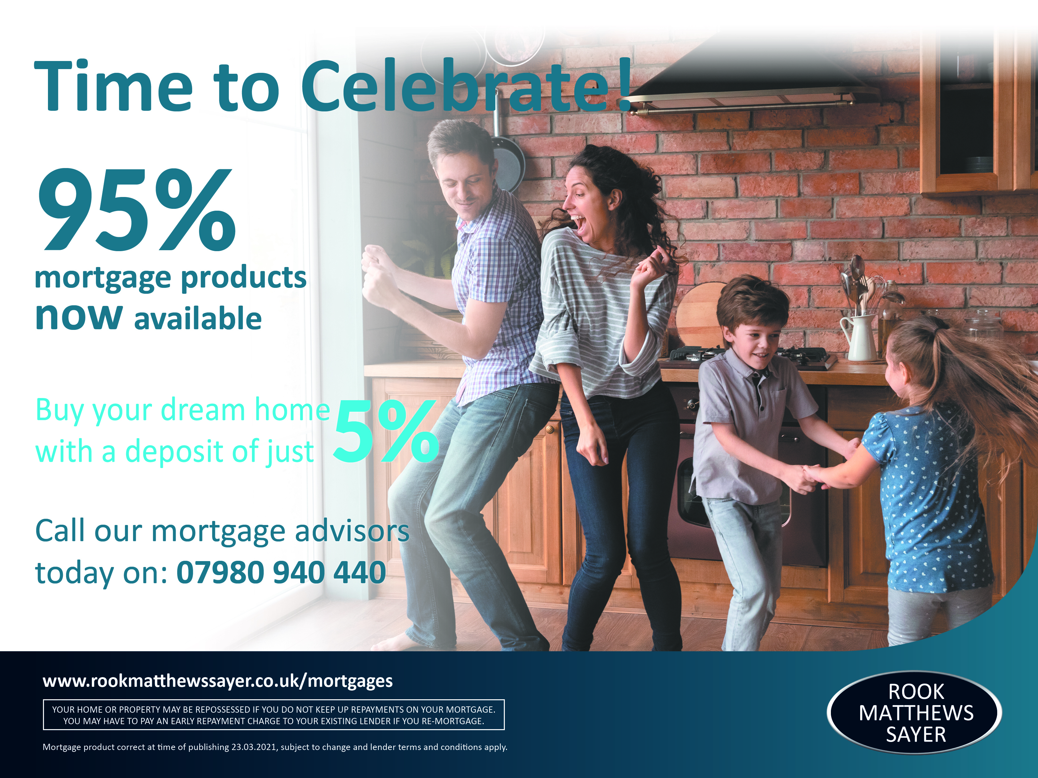 95% Mortgage products are NOW available