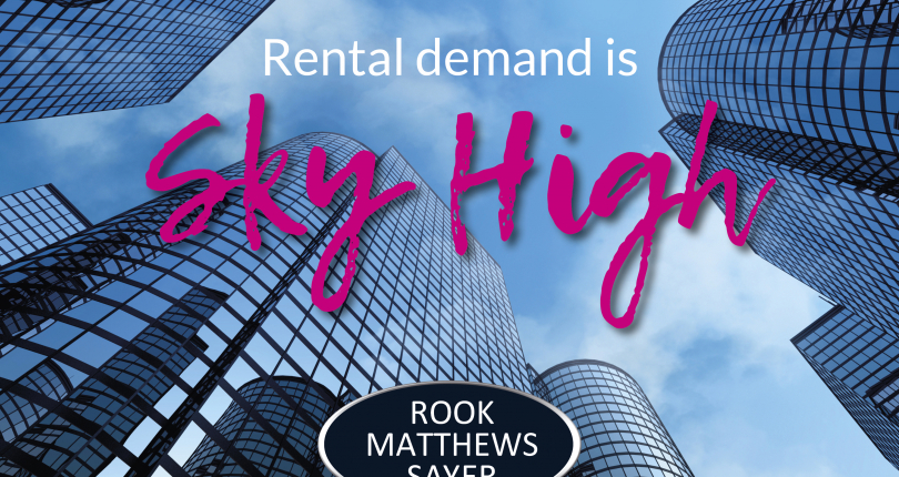 Rental Demand is Sky High!