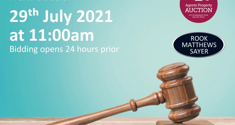 Next Property Auction 28/07/21 – 29/07/21