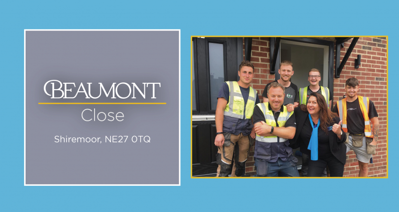 Beaumont close is open for viewings!
