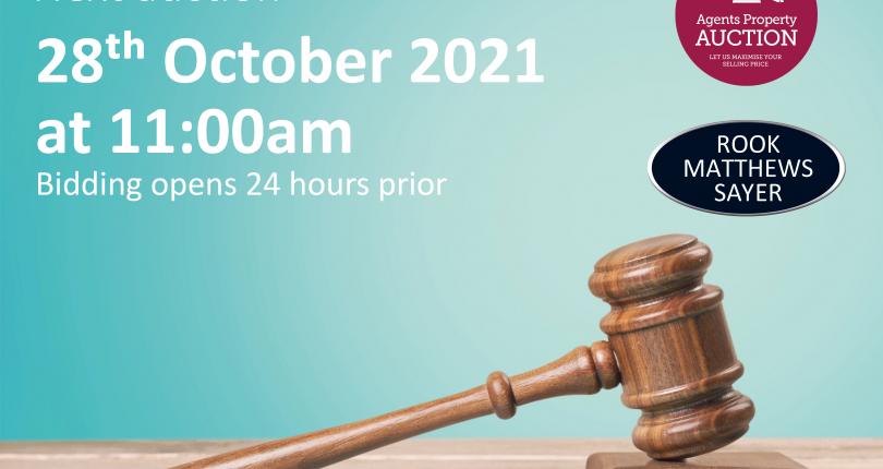 Next Property Auction 27/10/21 – 28/10/21
